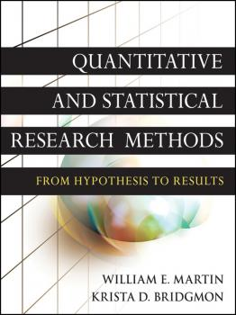 Quantitative and Statistical Research Methods. From Hypothesis to Results