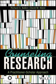 Counseling Research. A Practitioner-Scholar Approach