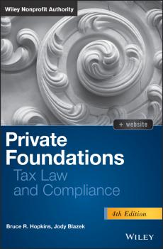 Private Foundations. Tax Law and Compliance