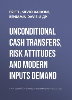 Unconditional cash transfers, risk attitudes and modern inputs demand